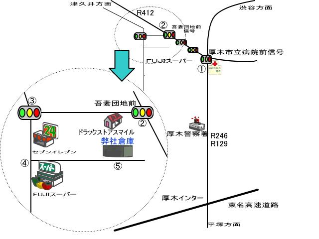 タナカ流通企画地図